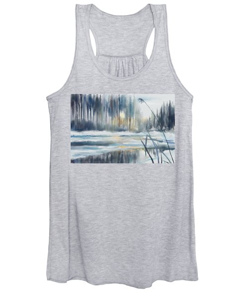Snow From Yesterday Women's Tank Top