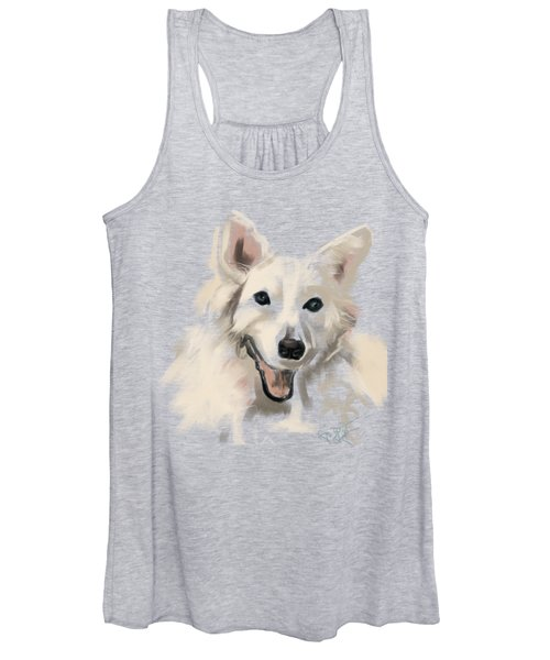 Dog Olaf Women's Tank Top