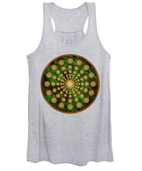 Mandala Radium 1 Women's Tank Top