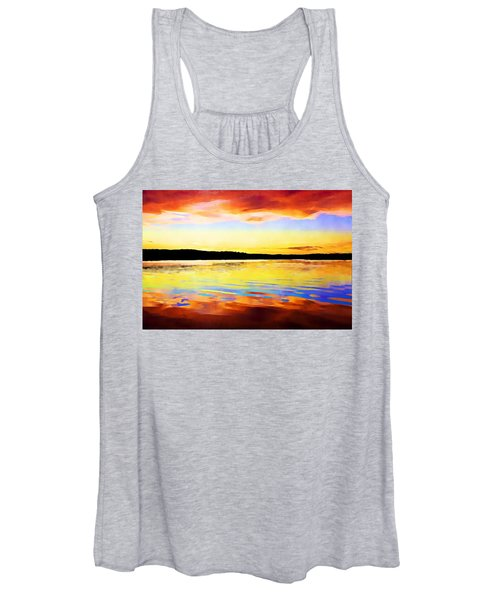 As Above So Below - Digital Paint Women's Tank Top