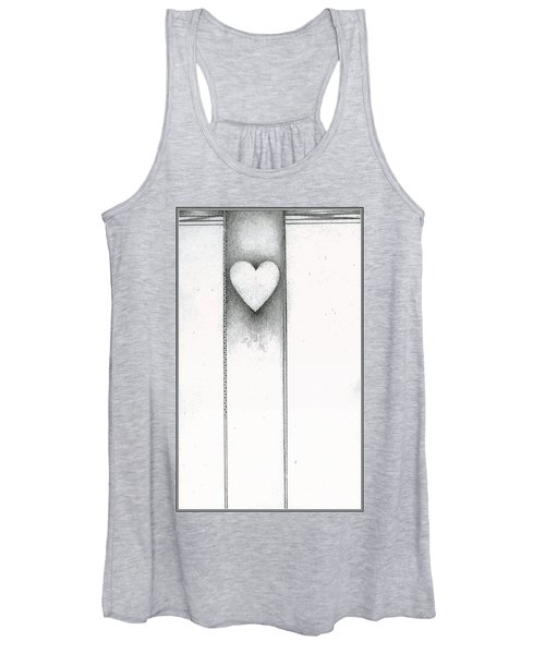 Ascending Heart Women's Tank Top