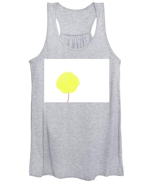 Aspen Yellow Women's Tank Top