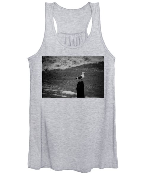 At His Post Women's Tank Top