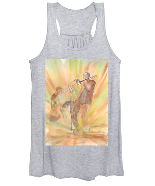 At One With The Music Women's Tank Top