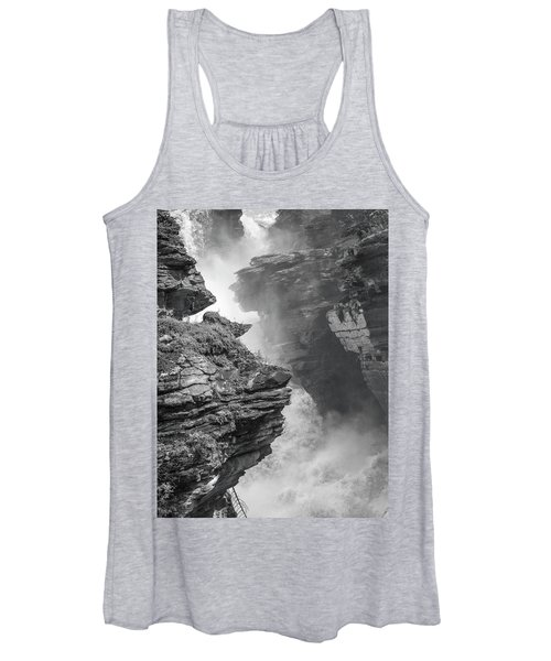 Athabasca Falls Women's Tank Top