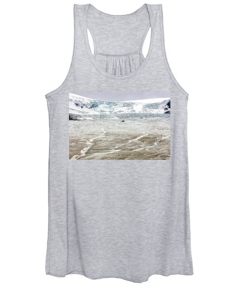 Athabasca Glacier With Guided Expedition Women's Tank Top