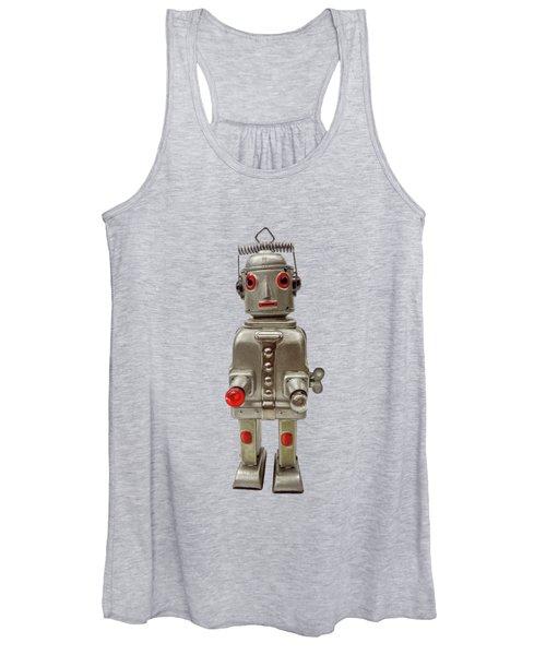Atomic Tin Robot Women's Tank Top