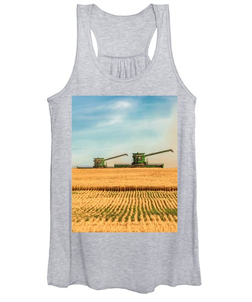Augers Out Women's Tank Top