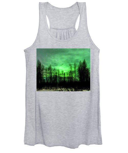 Aurora In The Clouds Women's Tank Top
