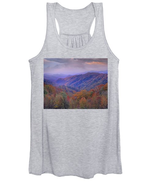 Autumn Deciduous Forest Great Smoky Women's Tank Top