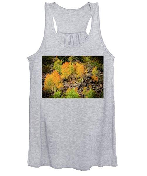 Autumn In The Uinta Mountains Women's Tank Top