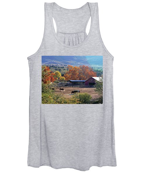 Autumn Ranch Women's Tank Top