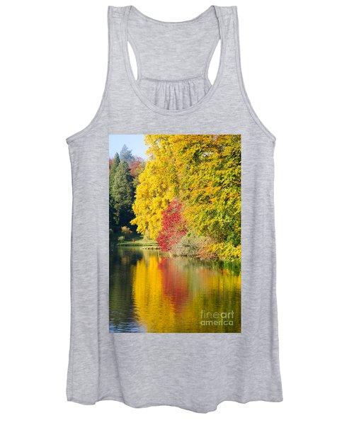 Autumn Trees Women's Tank Top