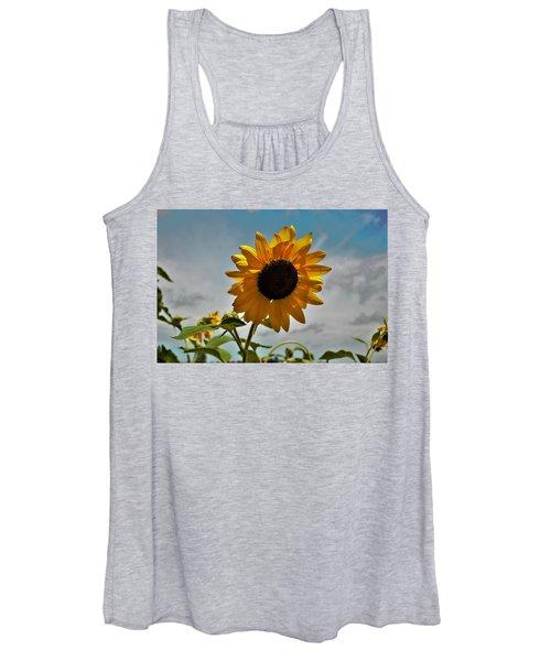 2001 - Awakening Sunflower Women's Tank Top