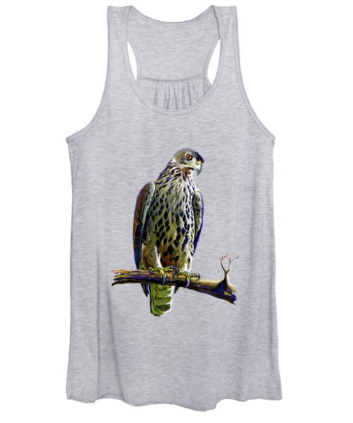 Ayres's Hawk Eagle  Women's Tank Top