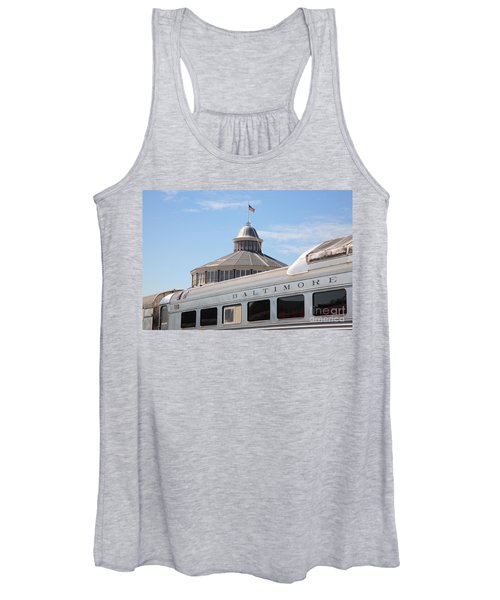 B And O Railroad Museum In Baltimore Maryland Women's Tank Top