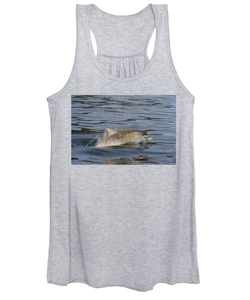Baby Bottlenose Dolphin - Scotland  #35 Women's Tank Top