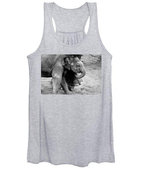 Baby Elephant Security Women's Tank Top