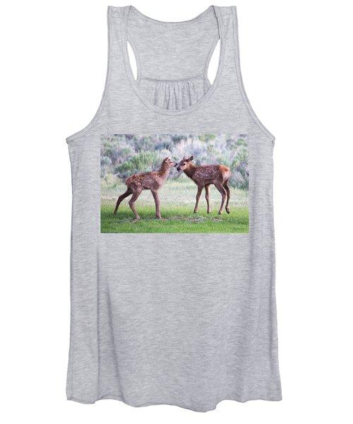 Baby Elk Women's Tank Top