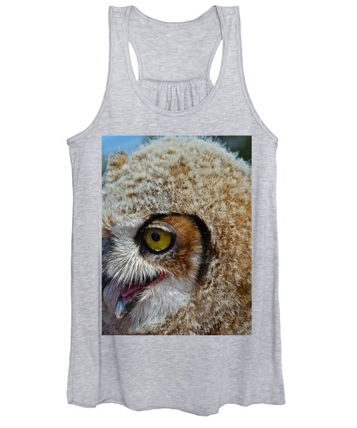 Baby Owl Women's Tank Top