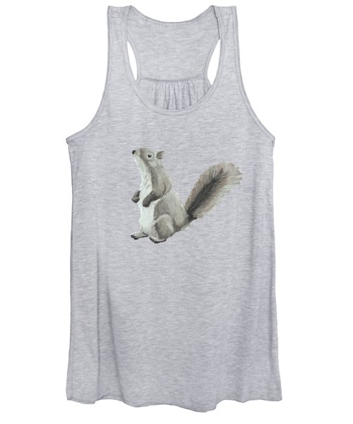 Baby Squirrel Women's Tank Top