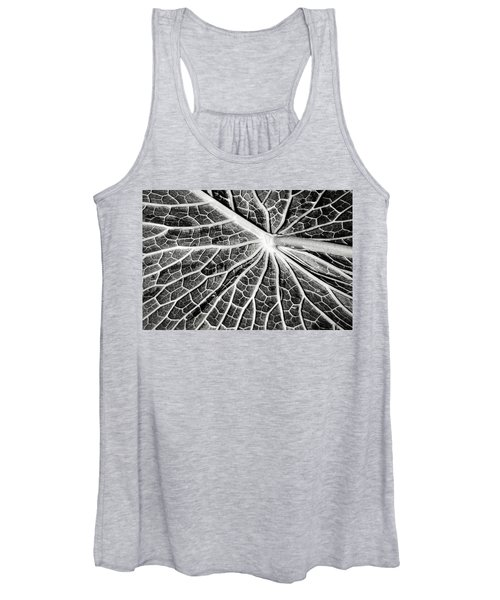Back Of A Water Lily Pad Women's Tank Top