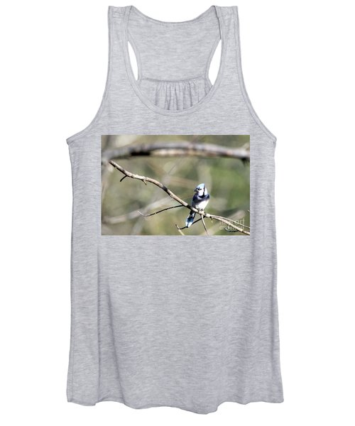 Backyard Blue Jay Women's Tank Top