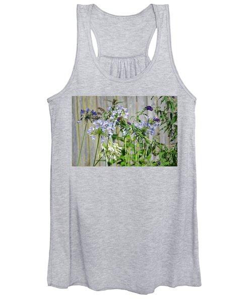 Backyard Flowers Women's Tank Top