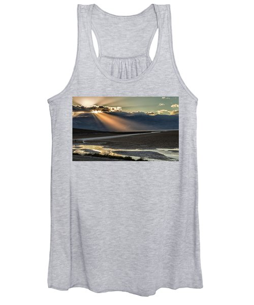 Bad Water Basin Death Valley National Park Women's Tank Top