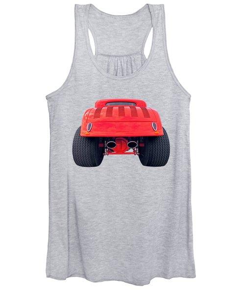 Badass Hotrod Women's Tank Top