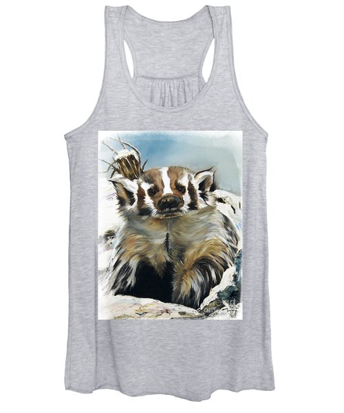 Badger - Guardian Of The South Women's Tank Top