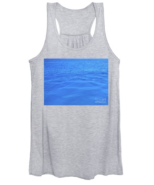 Bahama Blue Women's Tank Top