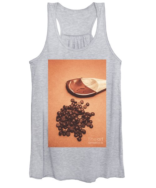 Baking Desserts With Chocolate Women's Tank Top