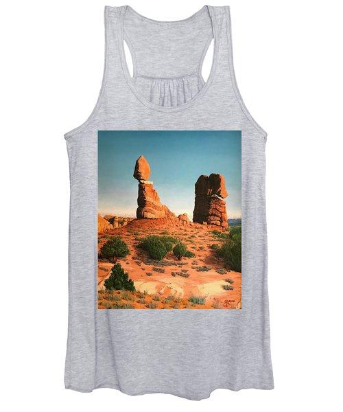 Balanced Rock At Arches National Park Women's Tank Top