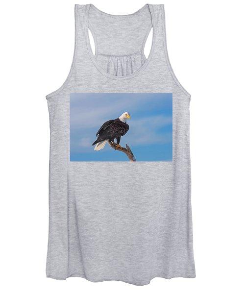 Bald Eagle Majesty Women's Tank Top