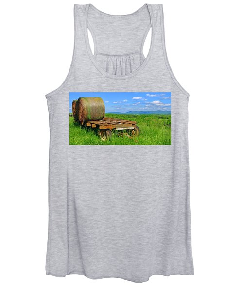Bales At Rest Women's Tank Top