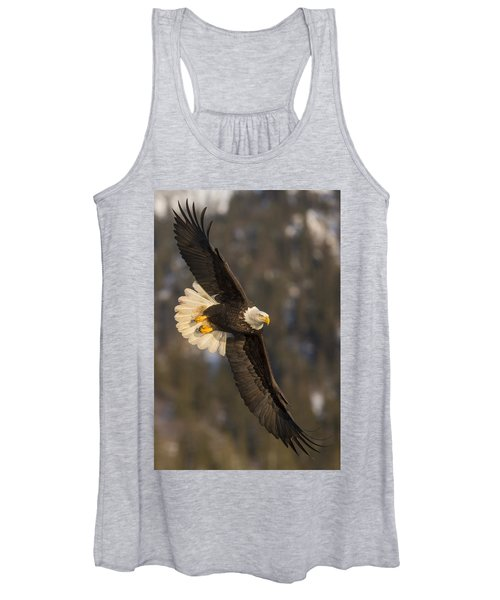 Banking Bald Eagle Women's Tank Top