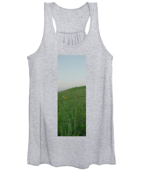 Barb Wire Prairie Women's Tank Top