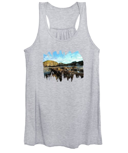 Barnacles On The Beach Women's Tank Top