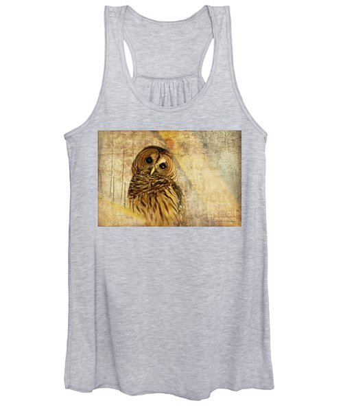 Barred Owl Women's Tank Top