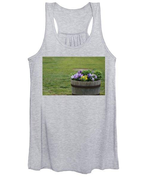 Barrel Of Flowers Women's Tank Top