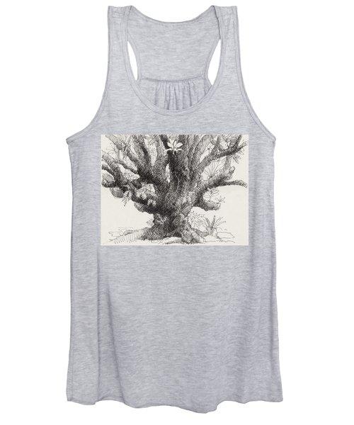 Barringtonia Tree Women's Tank Top