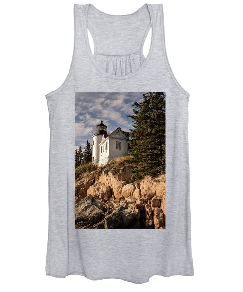 Bass Harbor Lighthouse Women's Tank Top