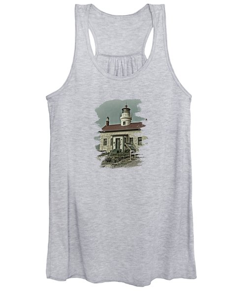 Battery Point Lighthouse Women's Tank Top