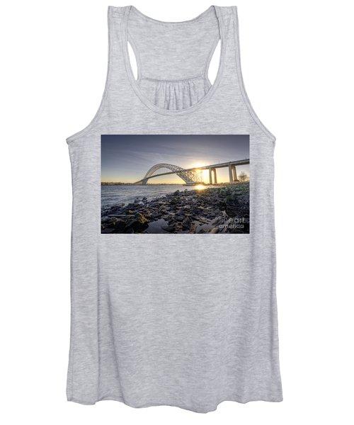 Bayonne Bridge Sunset Women's Tank Top