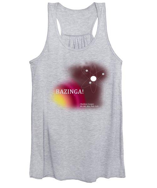 Bazinga Women's Tank Top