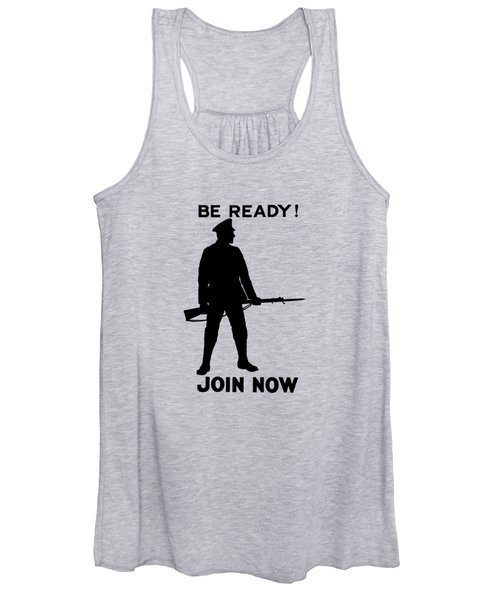 Be Ready - Join Now Women's Tank Top