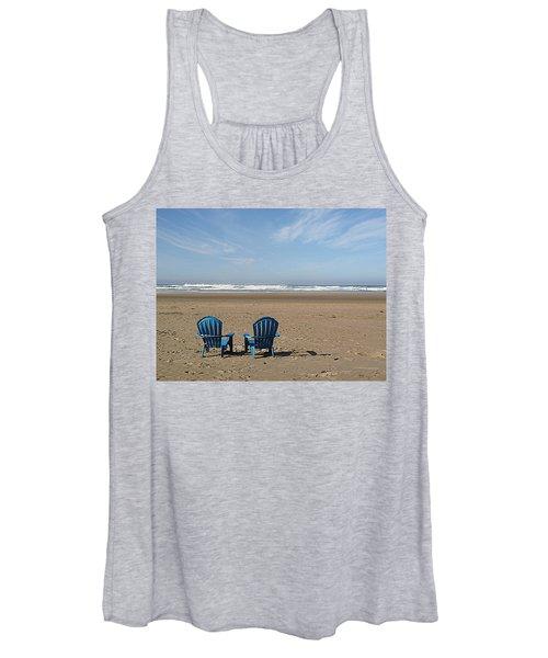 Beach Chair Pair Women's Tank Top
