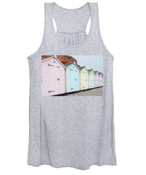Beach Huts Vi Women's Tank Top