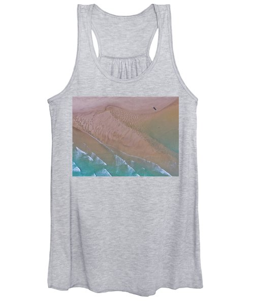 Beach Patterns At North Point On Moreton Island Women's Tank Top